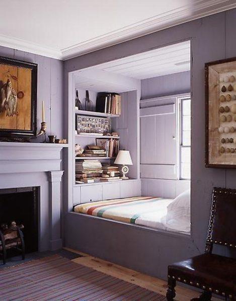 Как обустроить спальное место в нише