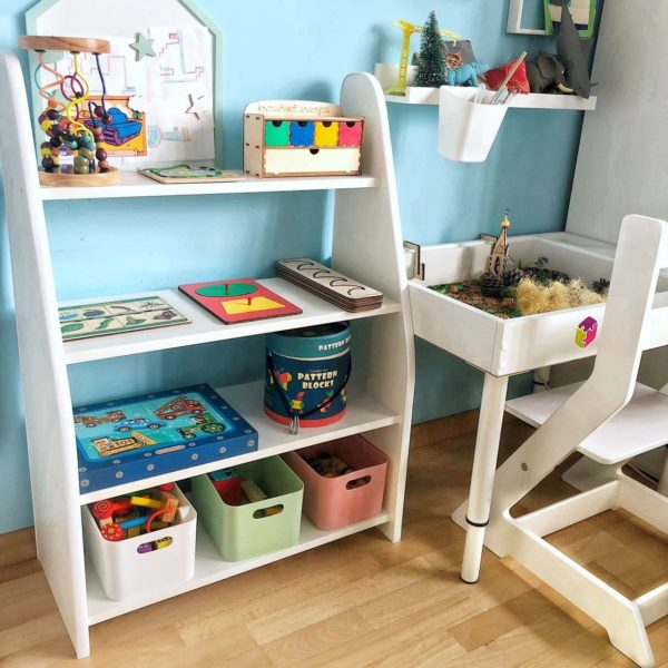 Как правильно хранить игрушки в детской