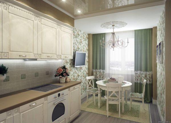 Как обустроить кухню-гостиную в стиле прованс