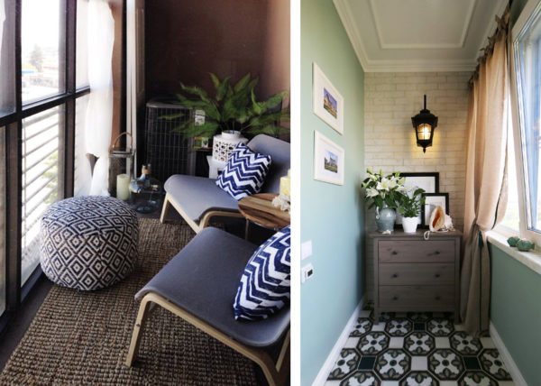 Какая мебель необходима на остекленном балконе