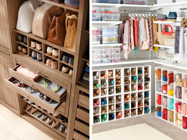 Как обустроить стильную и вместительную гардеробную