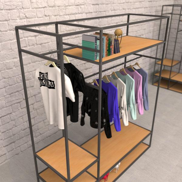 Яркие идеи хранения вещей для модниц