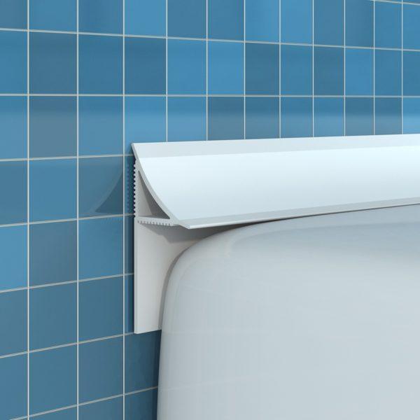 Как подобрать бордюр для ванной