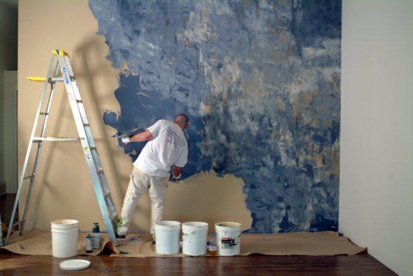 Что такое декоративная покраска стен