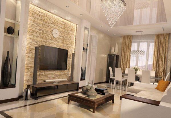 6 модных тенденций в обустройстве интерьера гостиной