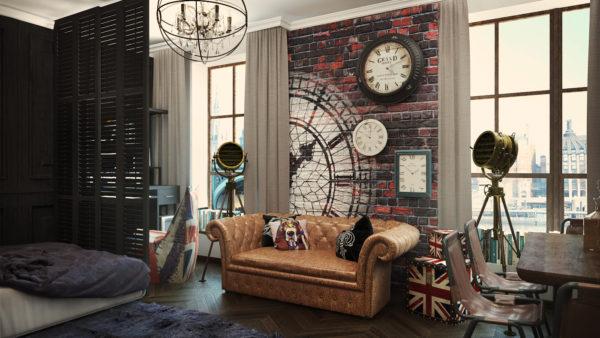 Как обустроить квартиру в стиле Лондона