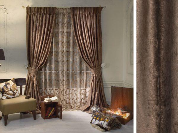 Какую ткань лучше выбрать для штор в гостиную