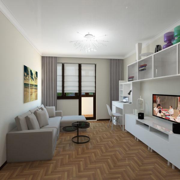 7 лучших идей зонирования однокомнатной квартиры