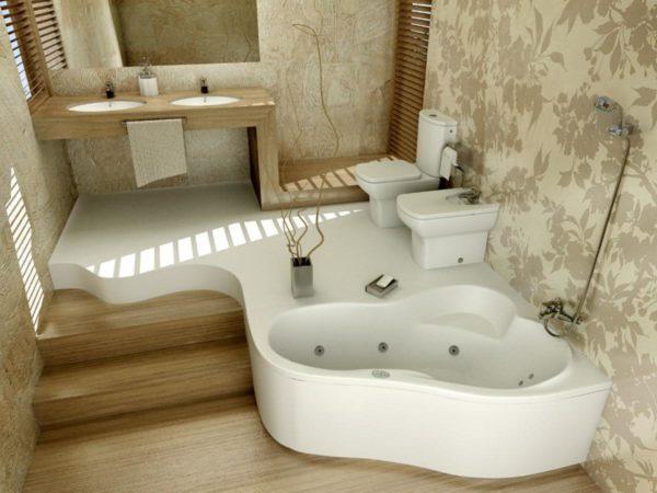 Как красиво отделать ванную комнату