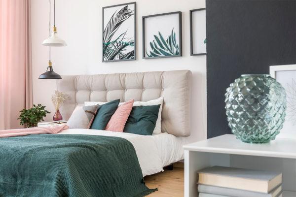Выбираем удобный и красивый текстиль для спальни
