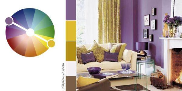 Как избежать в квартире угнетающей цветовой атмосферы