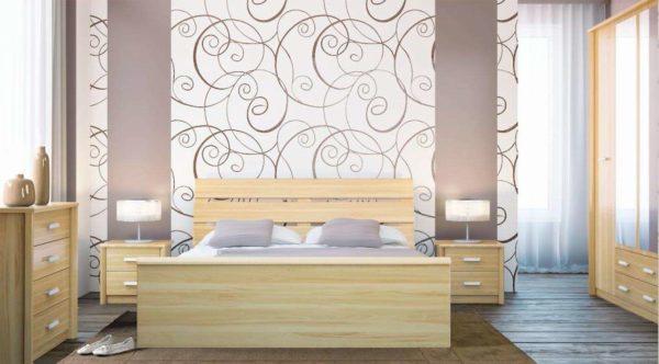 Безотходное использование обоев в дизайне помещения