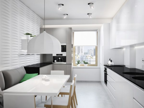Как обустроить кухню в стиле минимализм