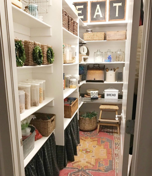 8 оригинальных мест для хранения на кухне
