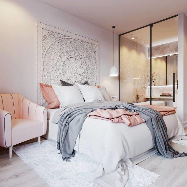 Из чего сделать панно для украшения спальни