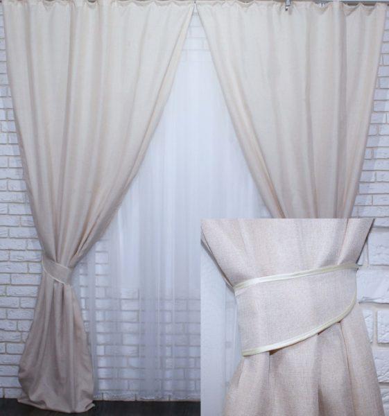 Когда стоит предпочесть шторы из льна