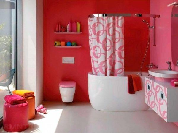 Какая краска подойдет  для ванной комнаты