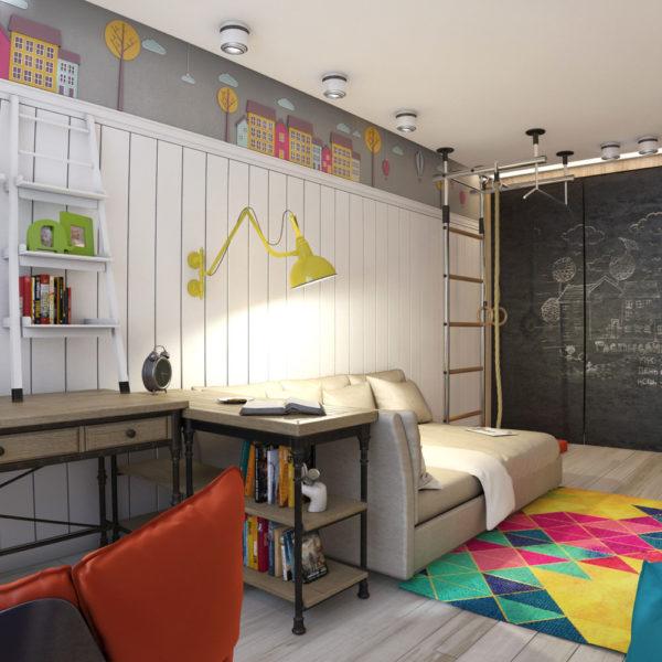 Особенности оформления детской комнаты для мальчика