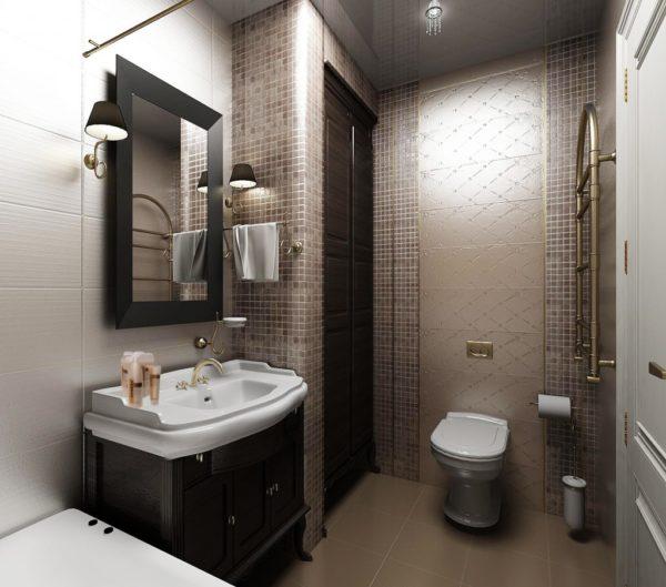 7 советов для интерьера маленькой ванной комнаты