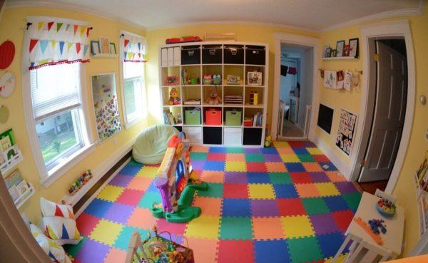 Игровая зона в детской: 8 необходимых предметов