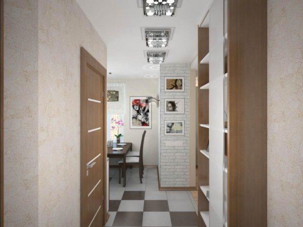 8 лучших идей для отделки узкого коридора в хрущевке