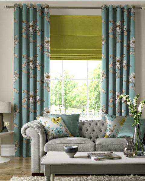 6 способов украсить шторы в гостиной