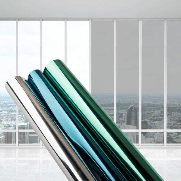 Как обклеить окна декоративной пленкой