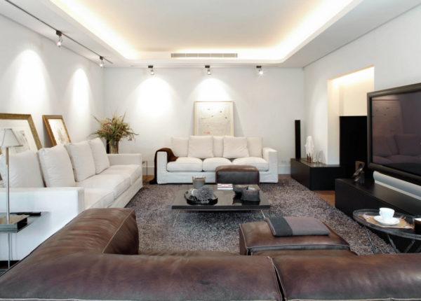Как расставить мебель в гостиной красиво и удобно