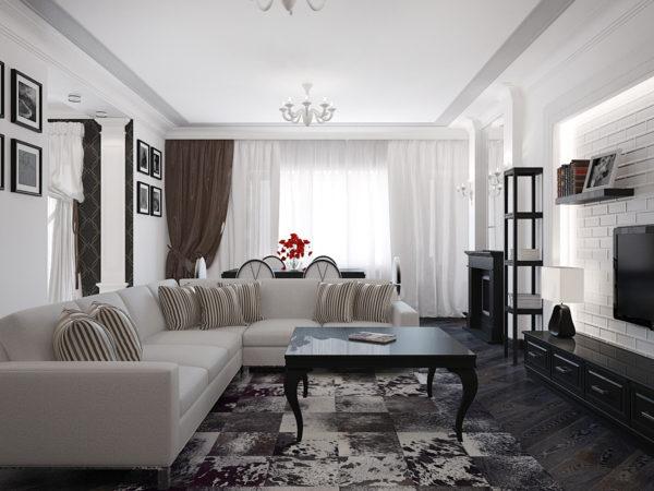 Как запланировать расстановку мебели в гостиной