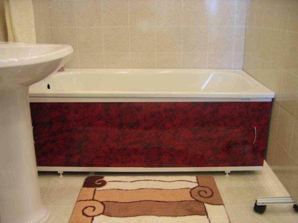 Как выбрать удобный и вместительный экран под ванну