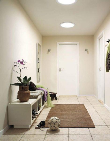 Как создать комфортное и уютное освещение в прихожую