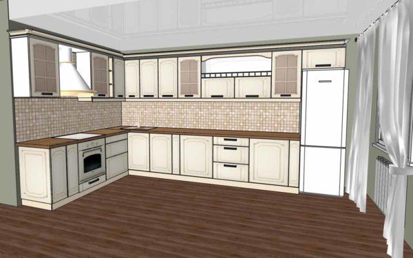 Как правильно сделать проект будущей кухни