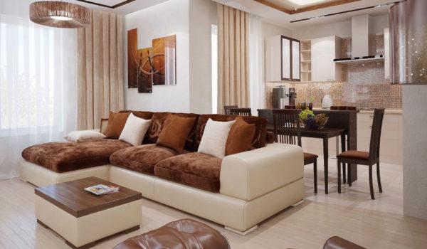 Как правильно расставить в гостиной мебель