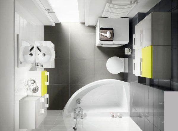 Что нужно знать при перепланировки маленькой ванной комнаты