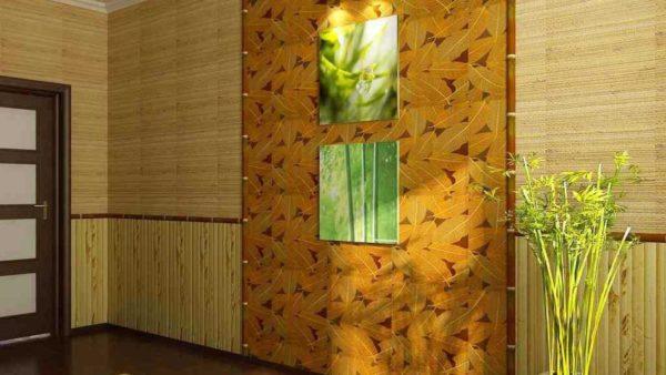 Как можно использовать бамбук при отделки квартиры