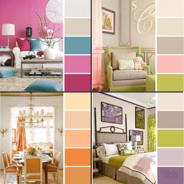 Как не ошибиться с сочетанием цветов в интерьере