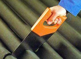 Чем резать плоский шифер в домашних условиях