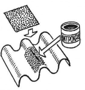 Пенопласт и бензин ремонт крыши