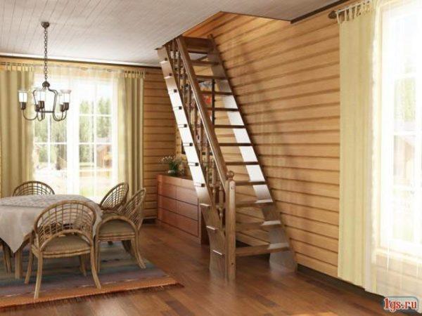 Чтобы попасть на чердак, нужна лестница.
