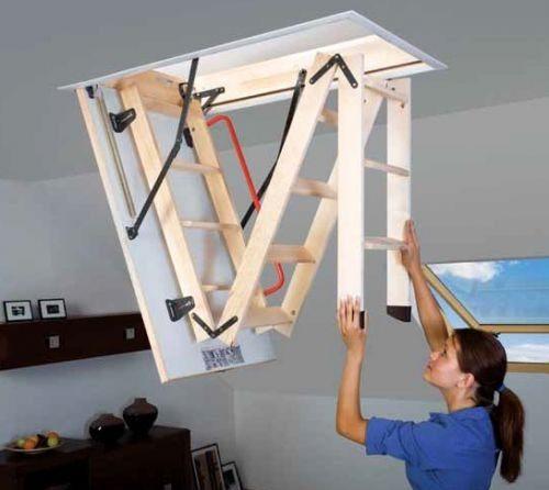 Чтобы сделать чердачные лестницы своими руками нужно обладать неплохой конструкторской смекалкой, хотя задача и несложна