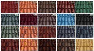 Цветовое разнообразие композитного покрытия