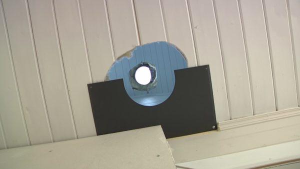 Декоративные металлические накладки, соответствующие диаметру дымохода