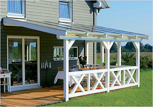 Деревянные навесы для дачи – это отличное решение вопроса организации зоны отдыха и летнего хозяйства.