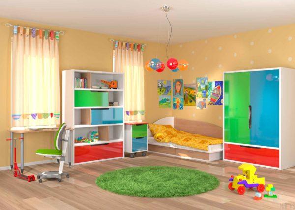 Какая мебель необходима для детской