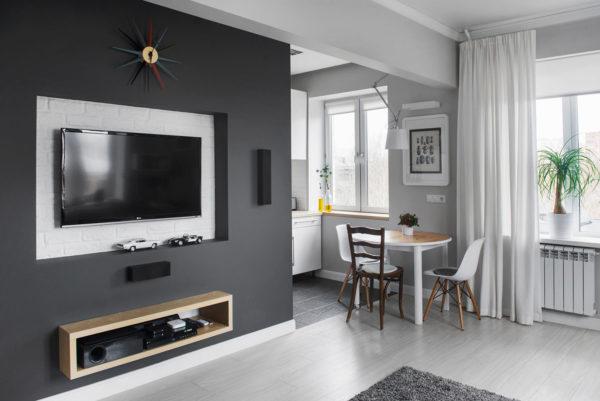 Как создать обеденную зону в квартире-студии