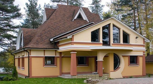 дизайн крыш домов