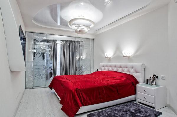 Как из мальнькой спальни визуально сделать просторную