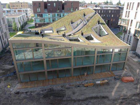 дома с прямой крышей