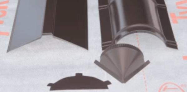 Два вида коньковых планок