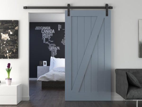 Какие двери выбрать для интерьера в стиле лофт
